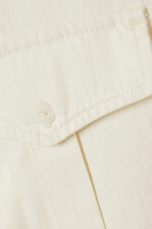 rag & bone Belted denim shirt dress