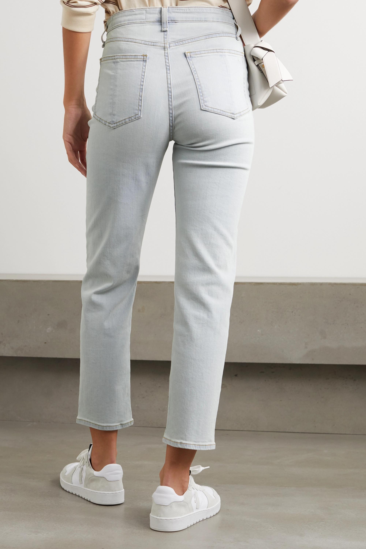 rag & bone Nina hoch sitzende Jeans mit geradem Bein