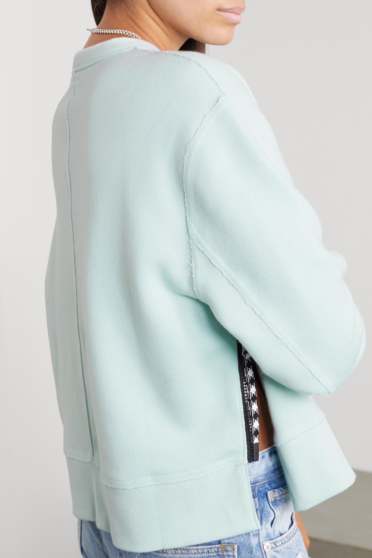 rag & bone Frankie Sweatshirt aus Jersey aus einer Baumwollmischung mit Reißverschlüssen