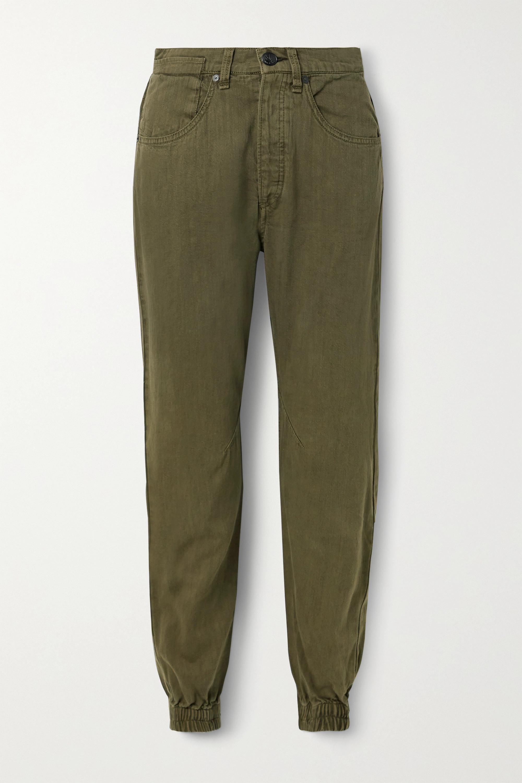 rag & bone Denim track pants