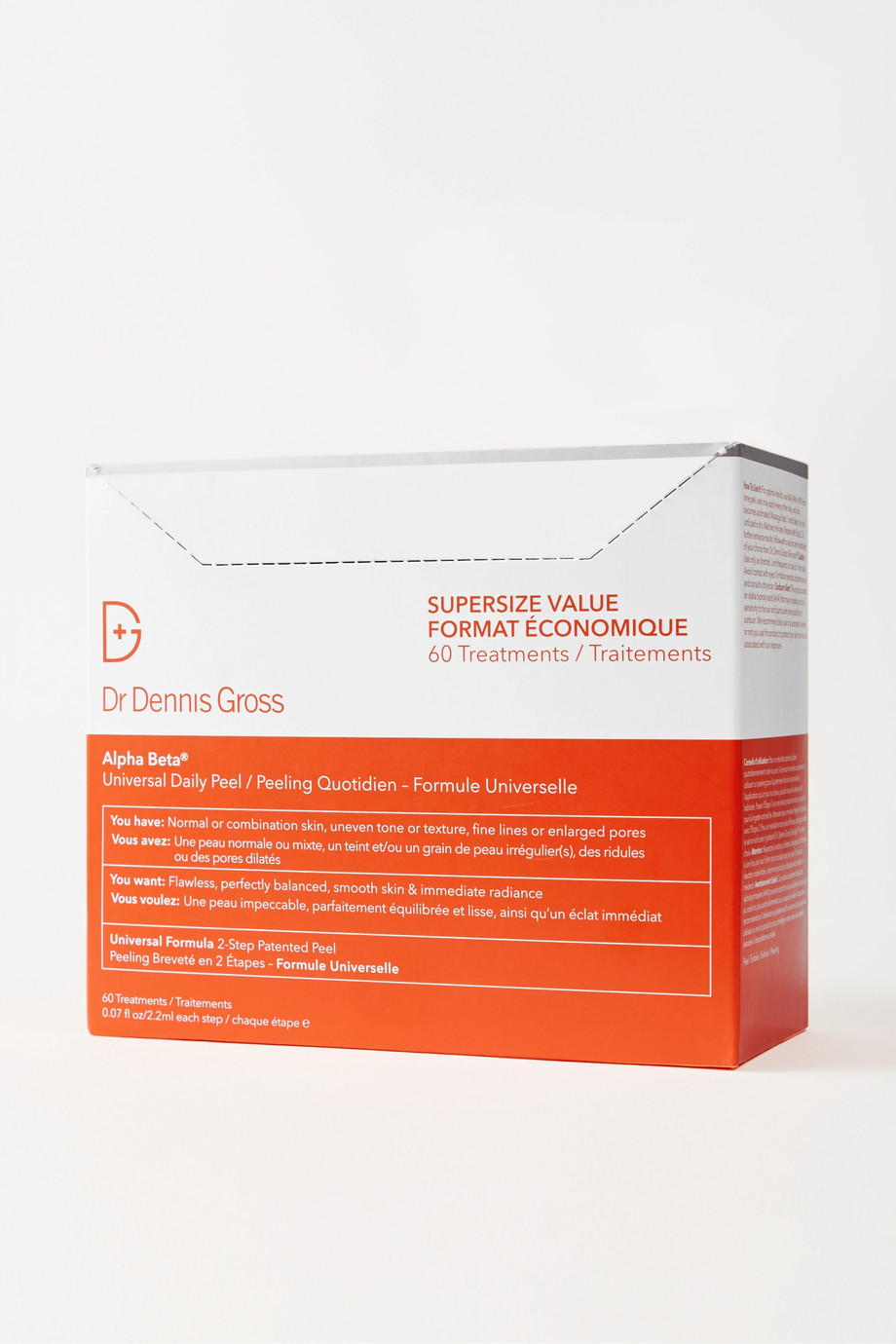 Dr. Dennis Gross Skincare Peeling quotidien universel Alpha Beta® x 60