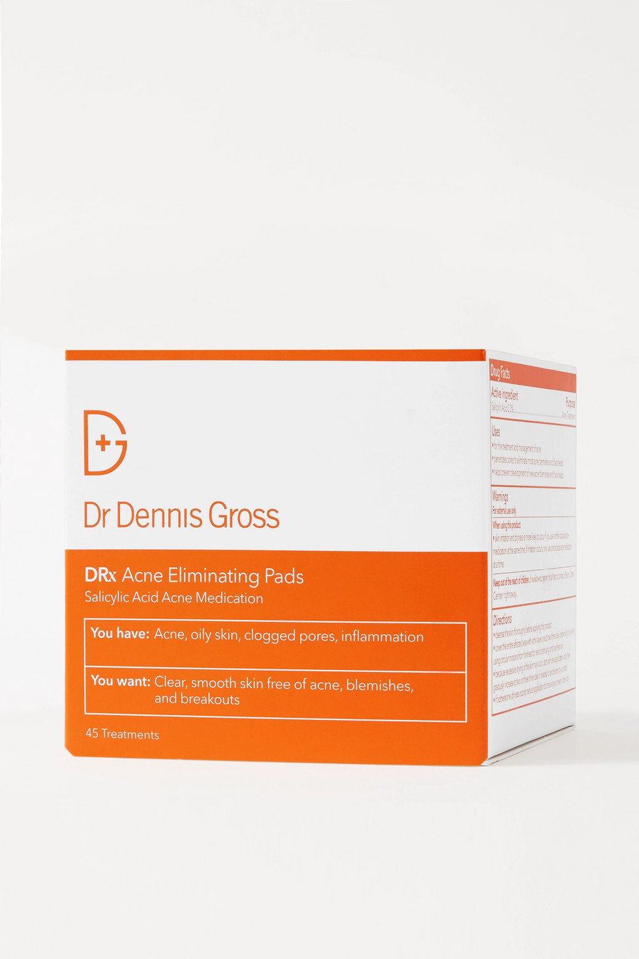 Dr. Dennis Gross Skincare DRx Acne Eliminating Pads - 45 pads