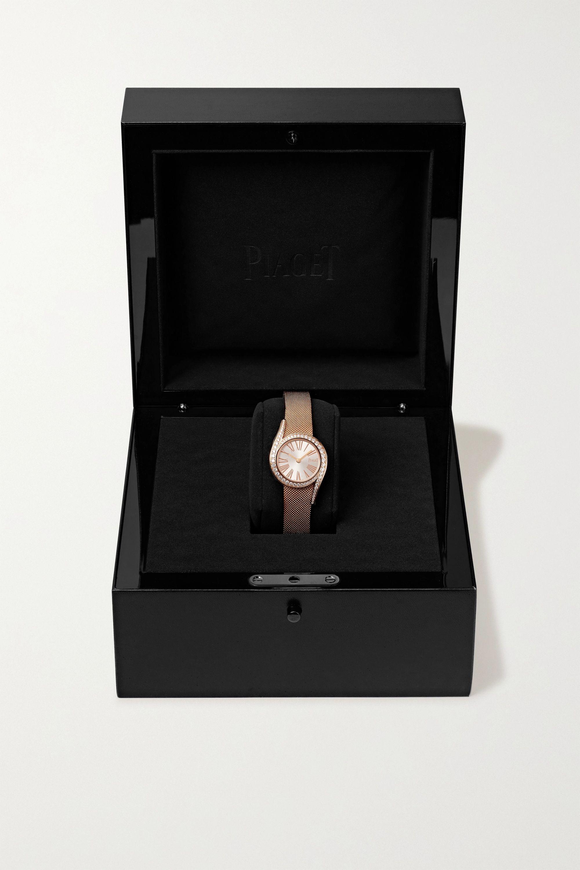Piaget Montre en or rose 18 carats et diamants Limelight Gala 26 mm