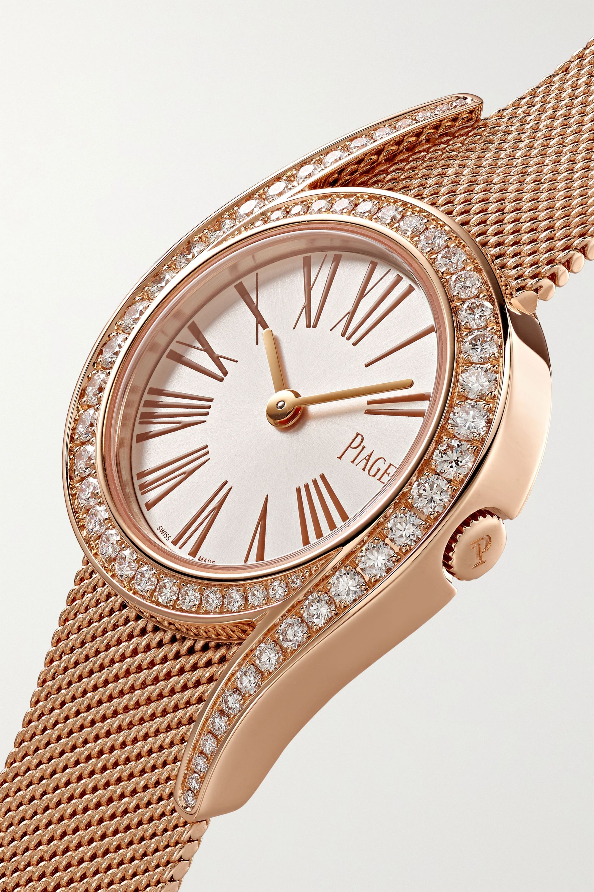 Piaget Limelight Gala 26mm 18-karat rose gold and diamond watch