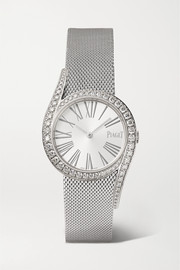 Limelight Gala 32mm 18-karat white gold and diamond watch