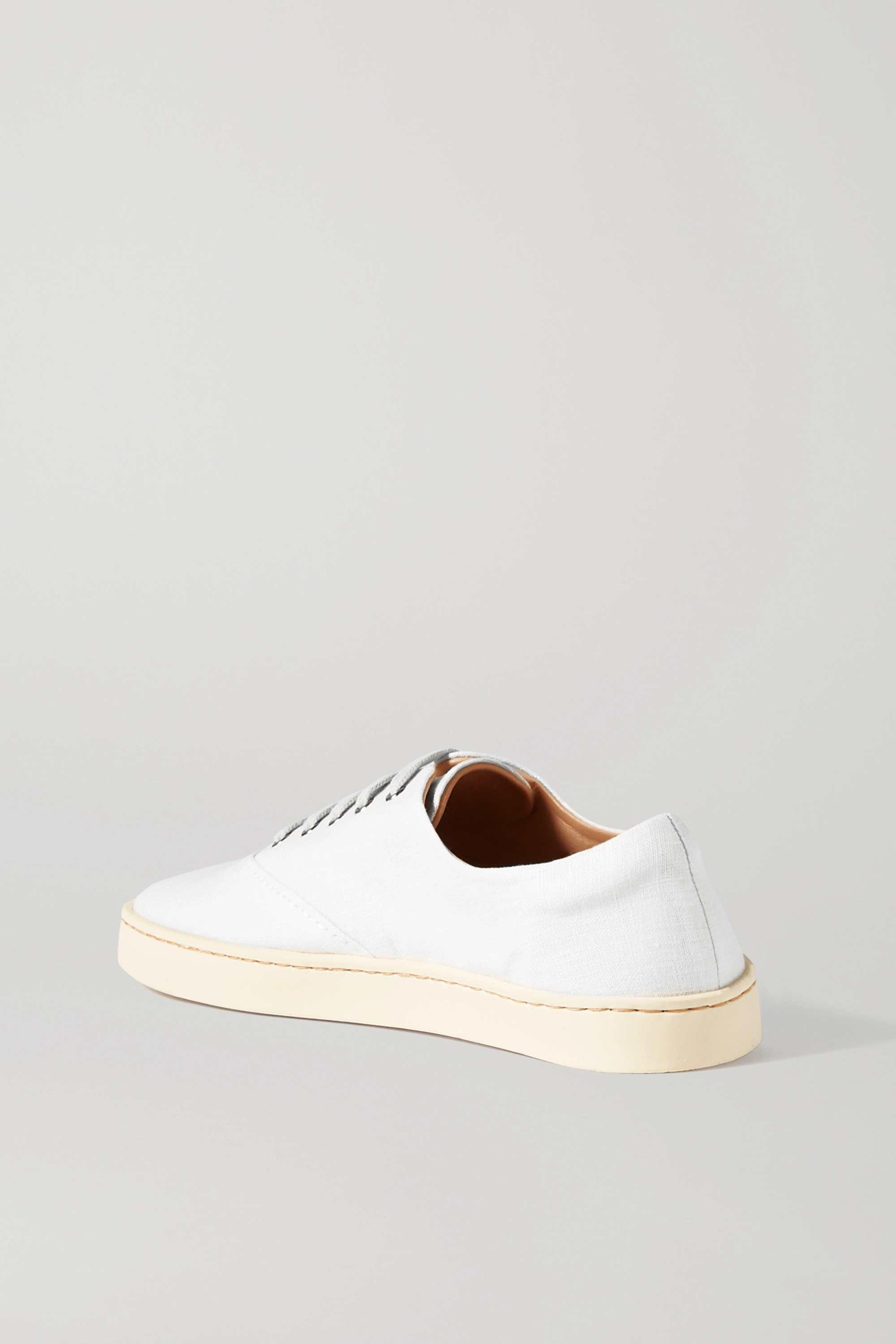 Gabriela Hearst Marcello linen sneakers