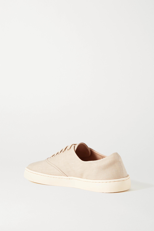 Gabriela Hearst Marcello linen sneakers
