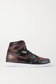 Nike Air Jordan 1 Fearless NRG Lurex high-top sneakers