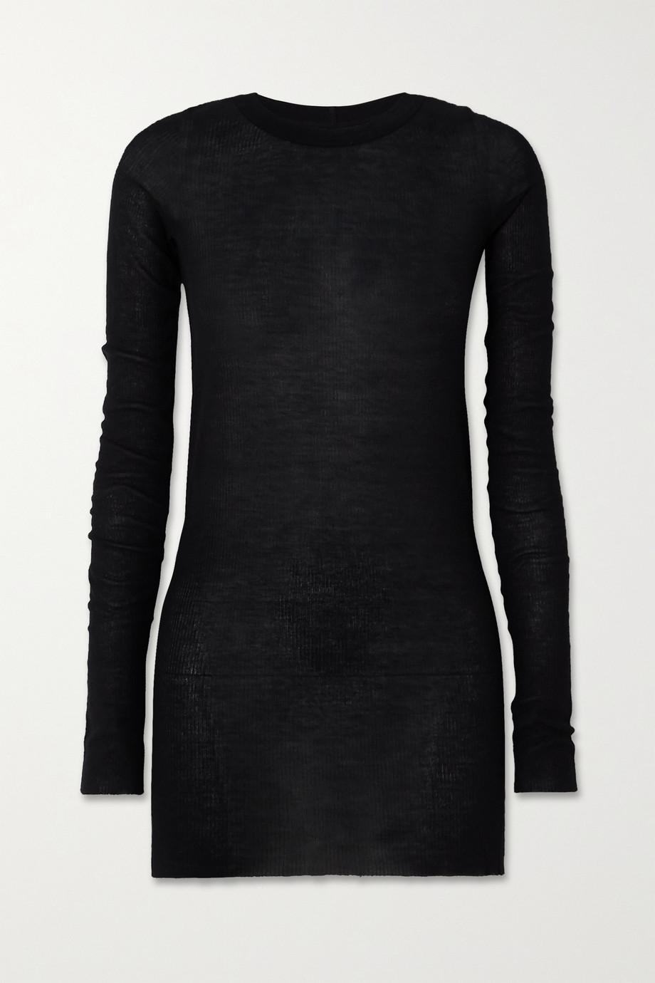 Rick Owens Ribbed-knit top