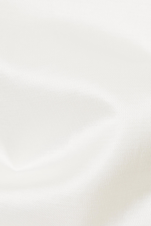 GAUGE81 Louis pleated cotton-blend shorts