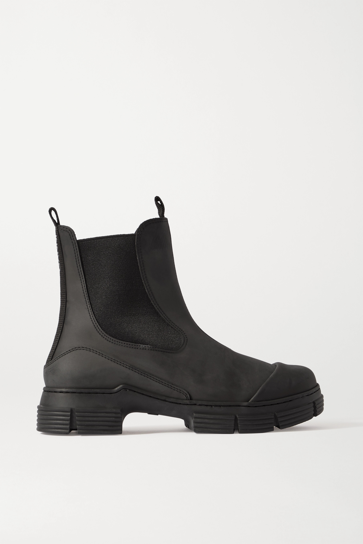 GANNI - Rubber Chelsea boots