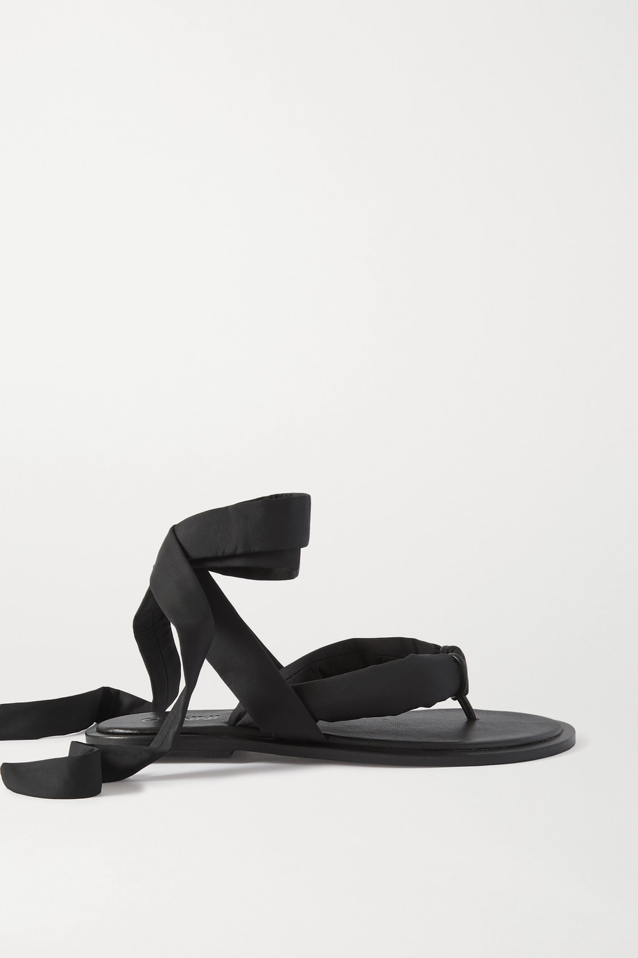GANNI Shell and leather sandals
