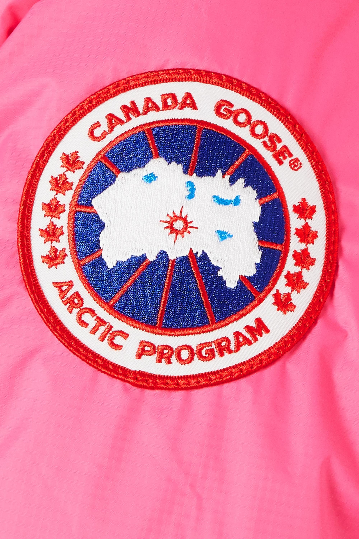 Canada Goose Doudoune à capuche en tissu technique imprimé et en duvet Approach