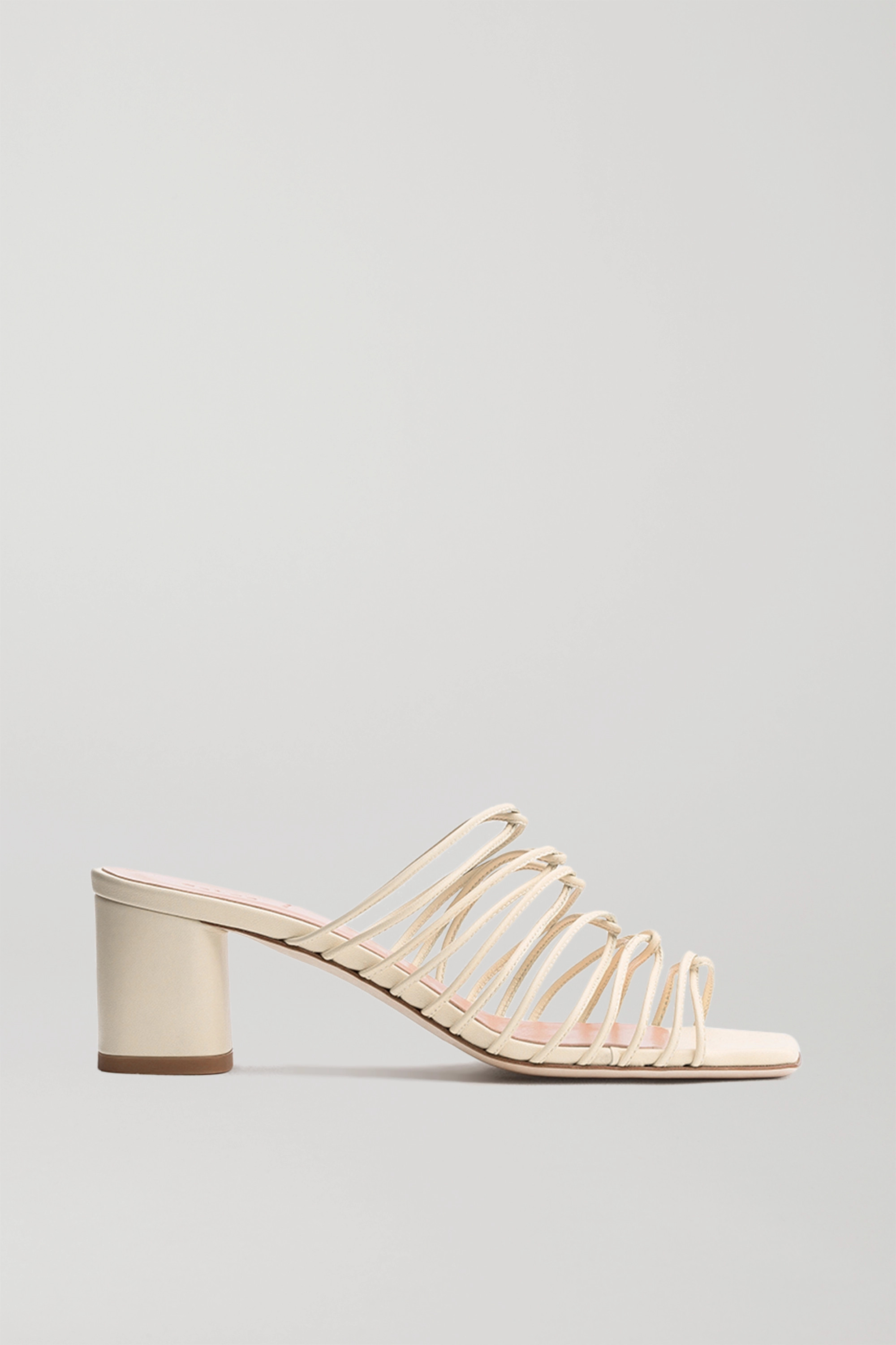 aeydē Pearl leather mules