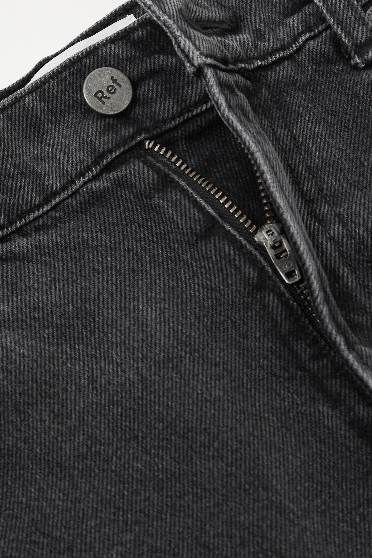 Reformation + NET SUSTAIN Star high-rise straight-leg jeans