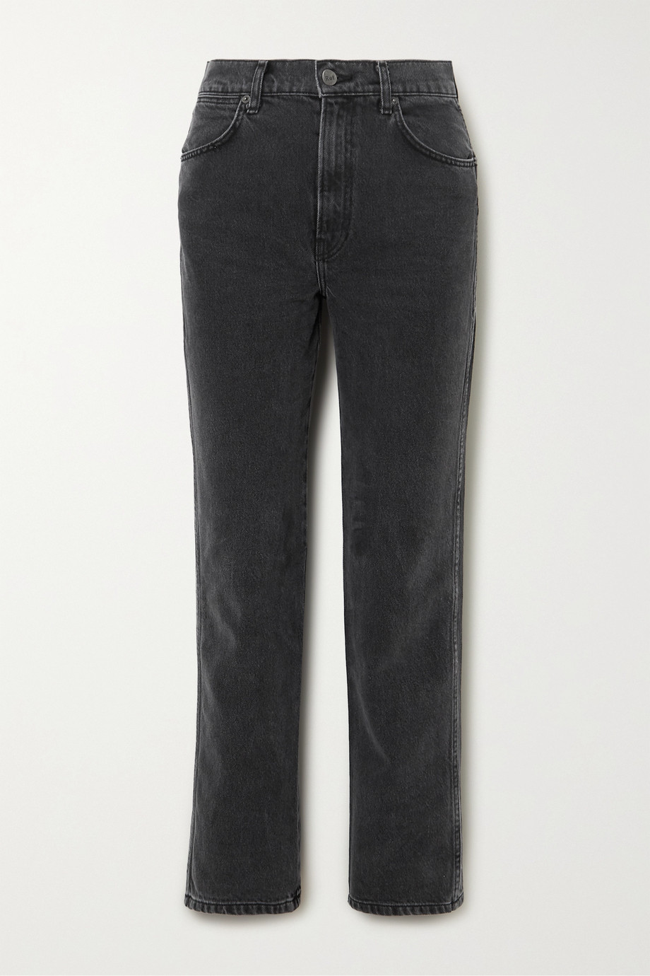Reformation + NET SUSTAIN Star high-rise straight-leg jeans