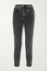 + NET SUSTAIN high-rise slim-leg jeans