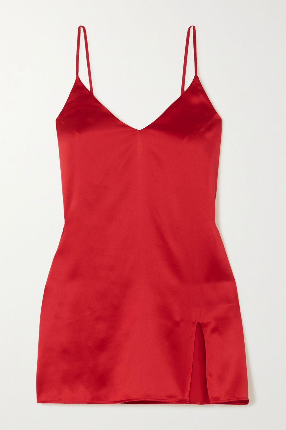 Reformation Mini-robe en satin de soie Ballard - NET SUSTAIN