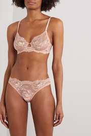La Perla Brigitta Leavers lace underwired bra