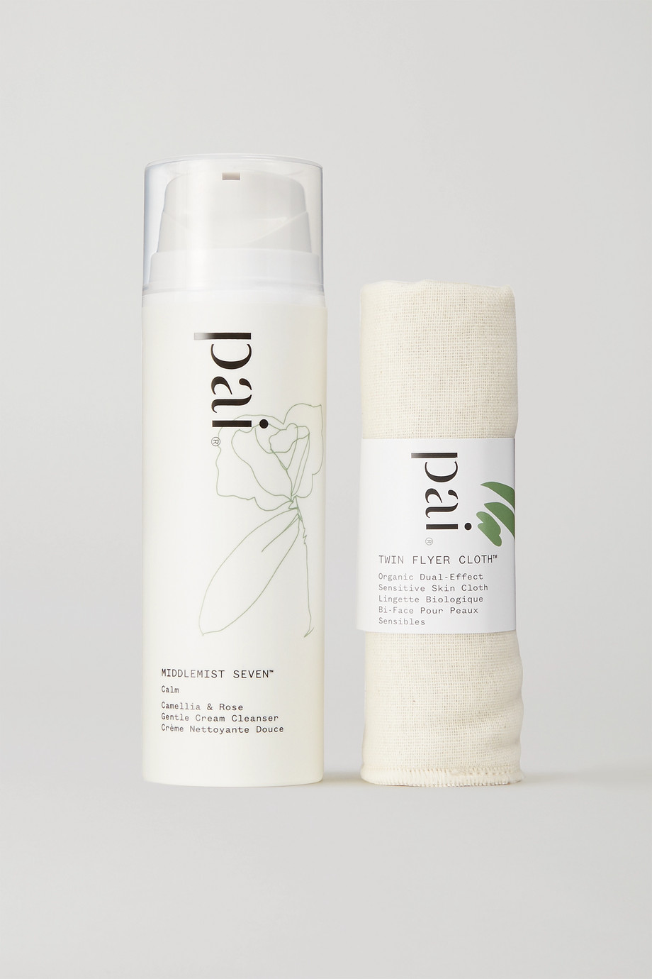 Pai Skincare + NET SUSTAIN Camellia & Rose Gentle Hydrating Cleanser, 100ml