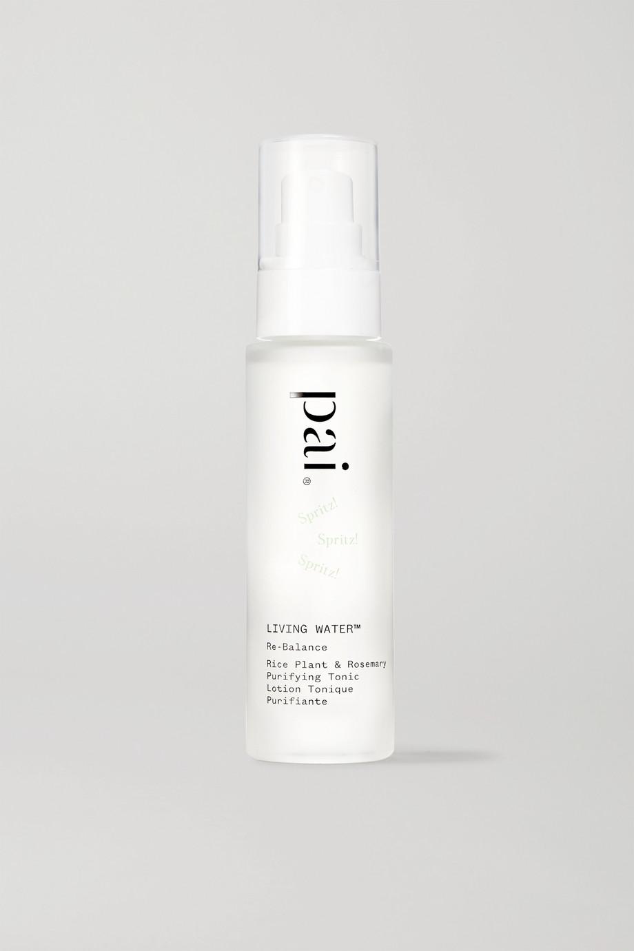 Pai Skincare + NET SUSTAIN Living Water Rice Plant & Rosemary Purifying Tonic, 50 ml – Toner