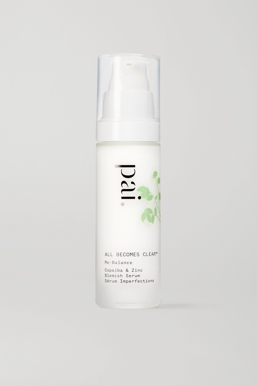 Pai Skincare + NET SUSTAIN Copaiba & Zinc Perfect Balance Blemish Serum, 30ml