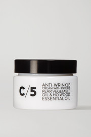 C/5 Anti-Wrinkle Cream with Prickly Pear Vegetable Oil & Ho Wood Essential Oil, 50ml