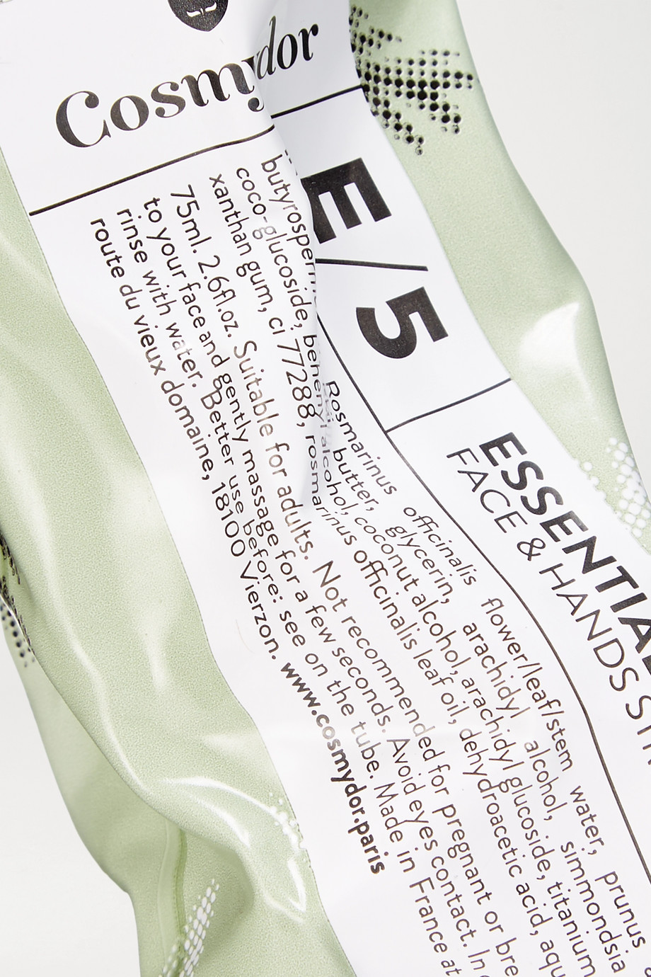 Cosmydor 【NET SUSTAIN】E/5 迷迭香基础护肤霜,75ml