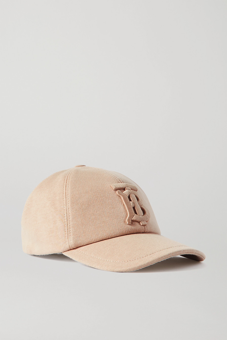 Burberry Appliquéd cotton-jersey baseball cap