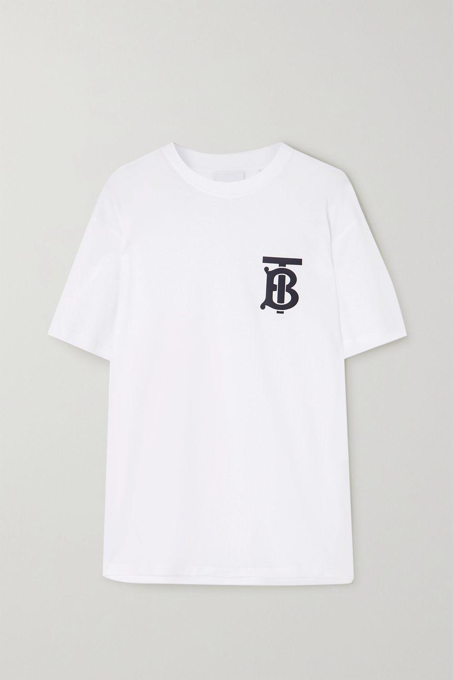 Burberry T-Shirt aus Baumwoll-Jersey mit Print