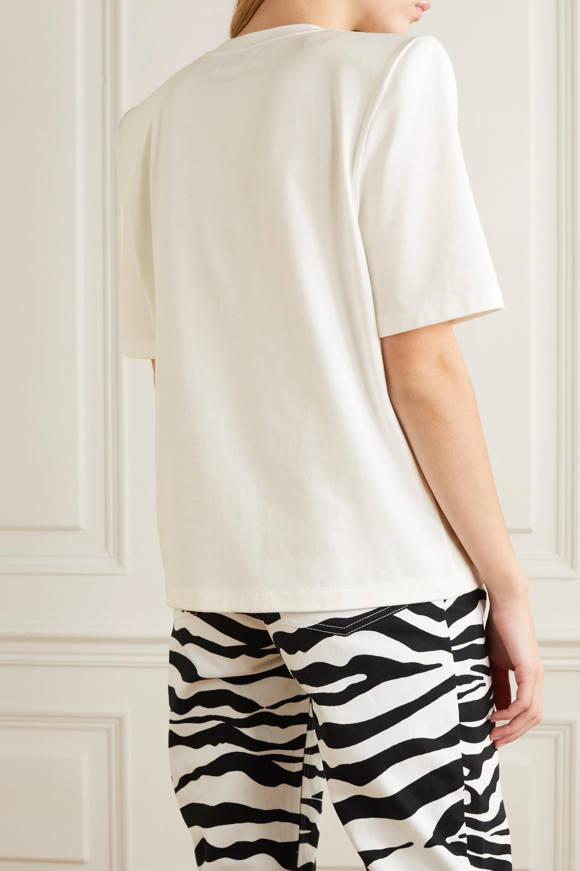 The Attico International Women's Day printed cotton-jersey T-shirt