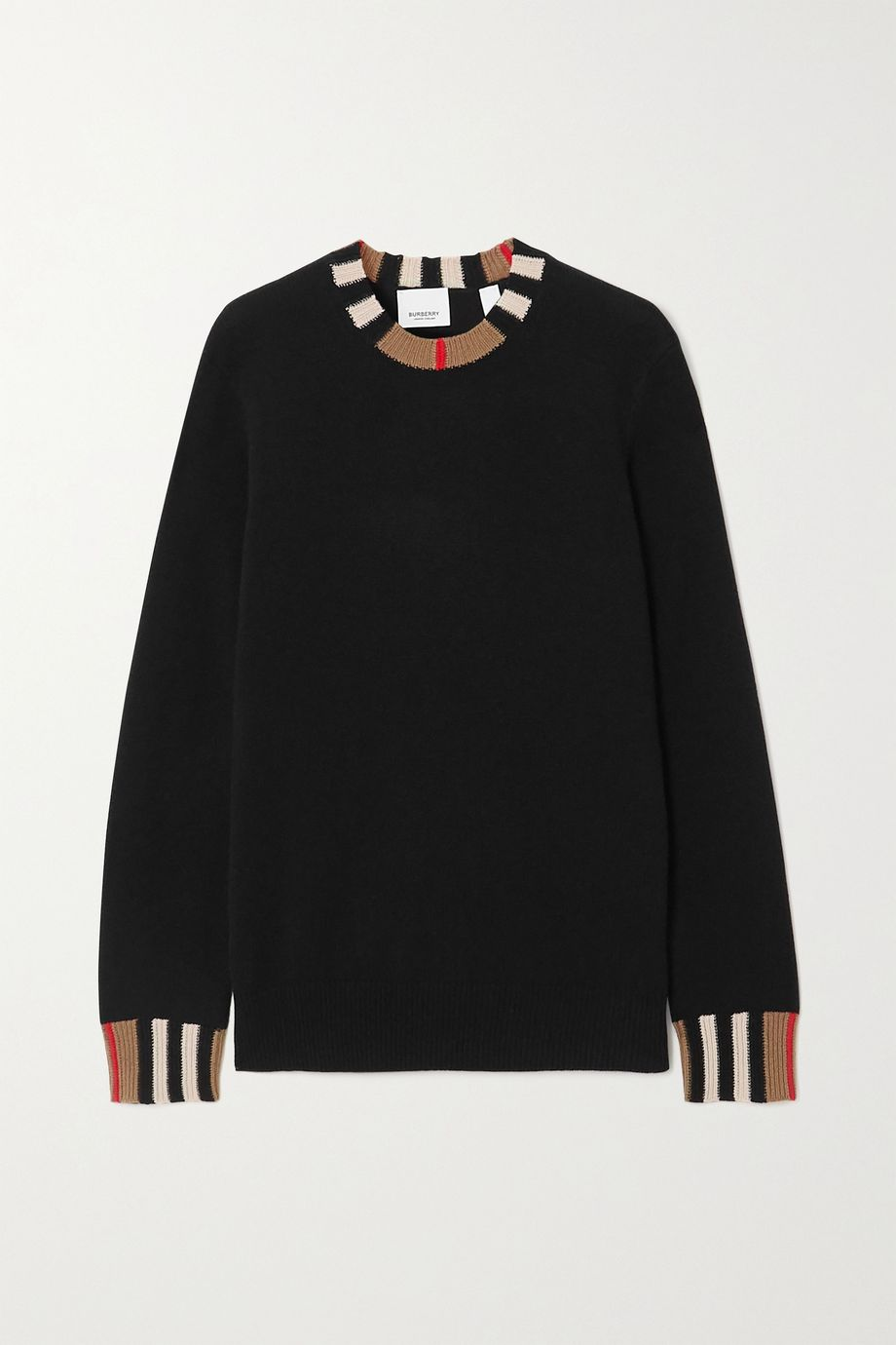 Burberry Striped cashmere-blend sweater