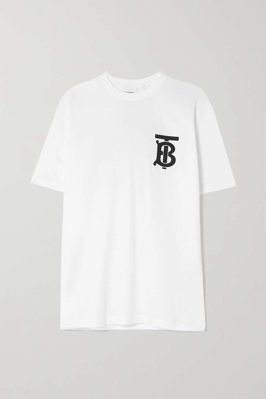 Burberry Oversized printed cotton-jersey T-shirt