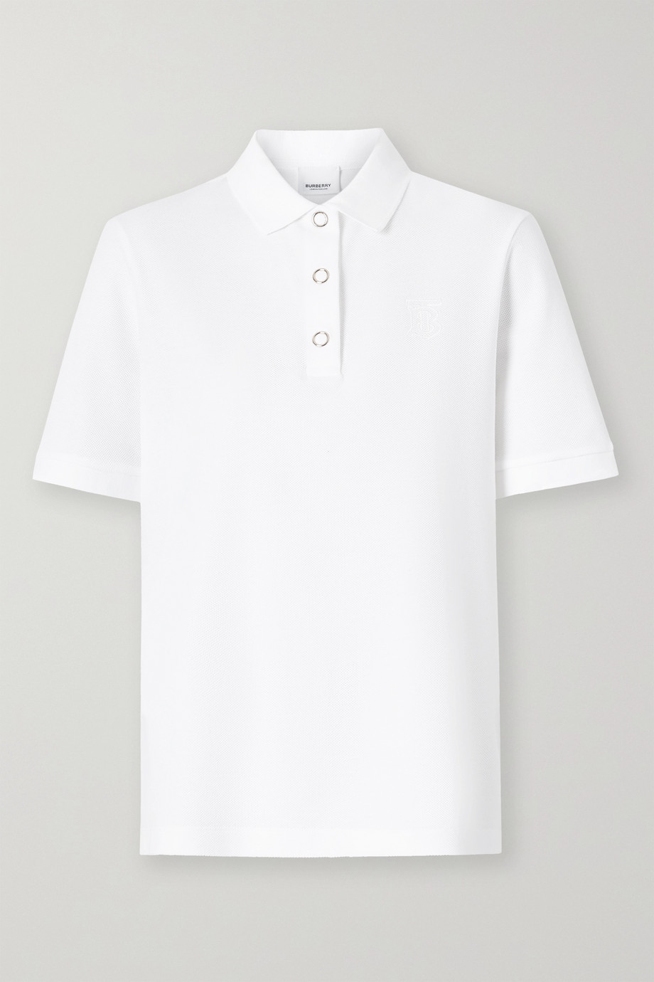 Burberry Cotton-piqué polo shirt