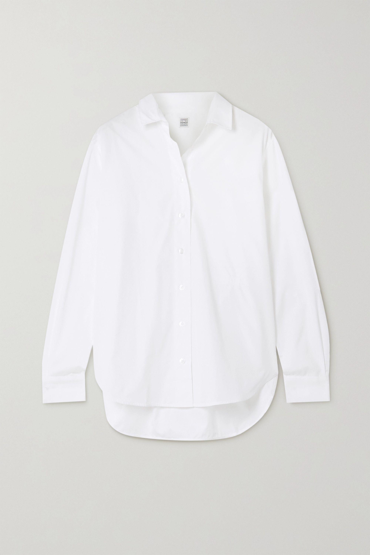 Totême Capri 纯棉府绸衬衫