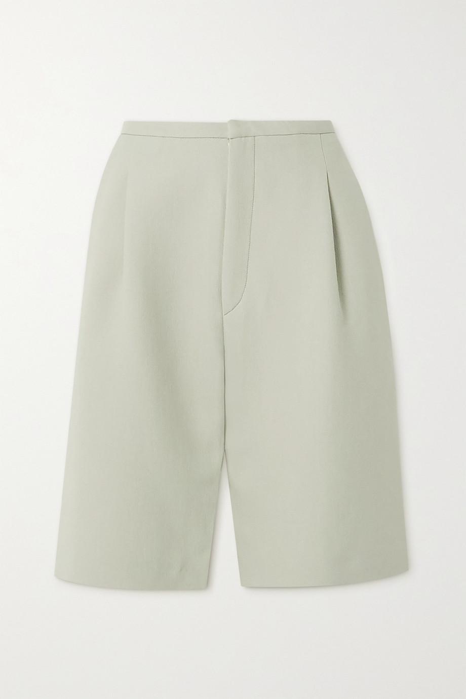Totême Lluc Shorts aus Twill mit Falten