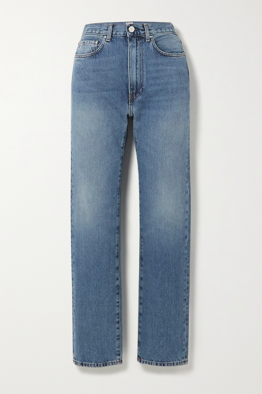 Totême Studio high-rise straight-leg jeans