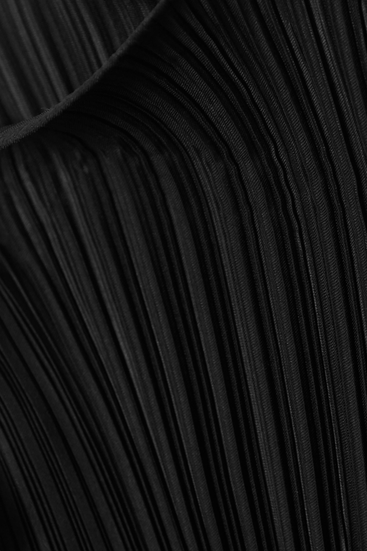 Totême Soldev ruffled plissé-crepe top
