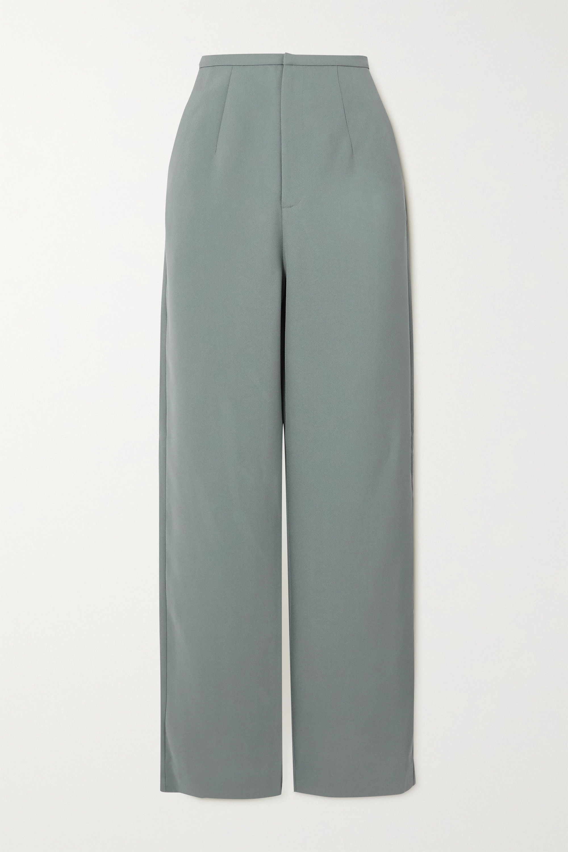 Totême Arles Hose mit geradem Bein aus Webstoff