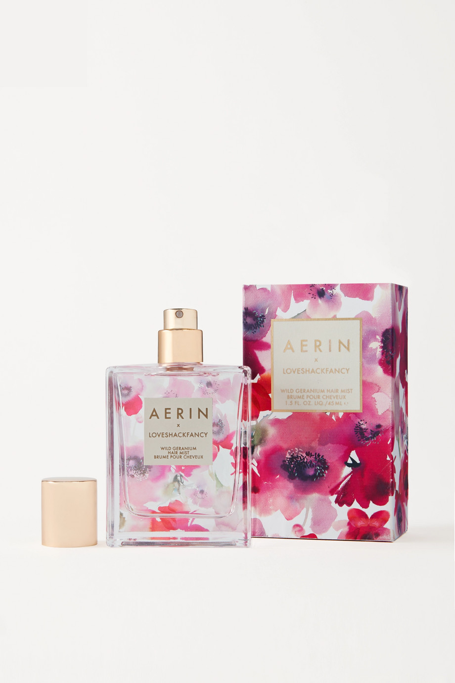 AERIN Beauty + LoveShackFancy Hair Mist - Wild Geranium, 45ml