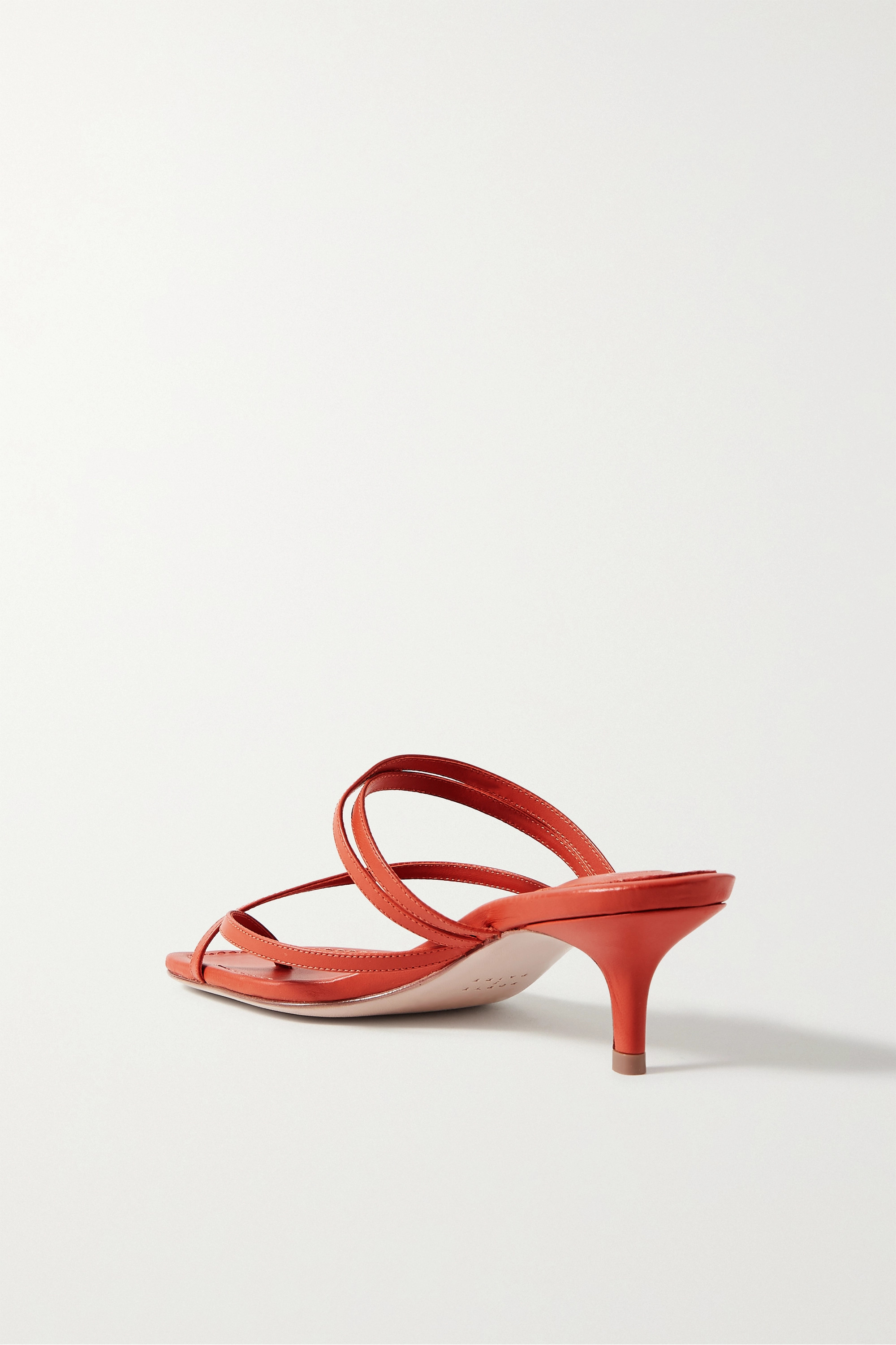 Porte & Paire Leather sandals