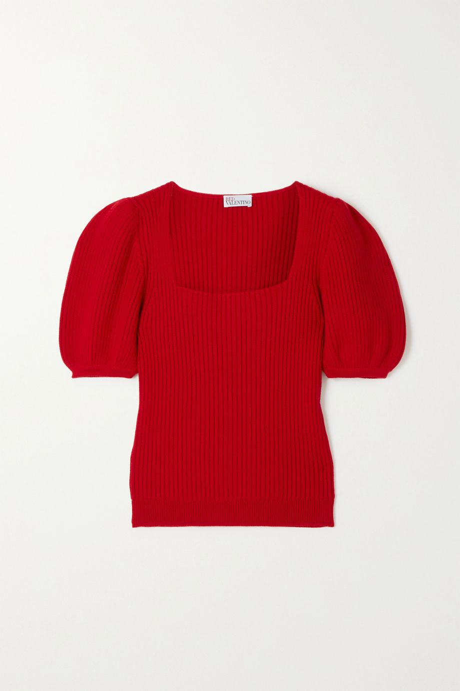 REDValentino Ribbed wool sweater