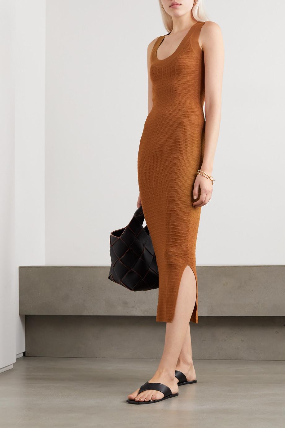By Malene Birger Minasia ribbed-knit maxi dress