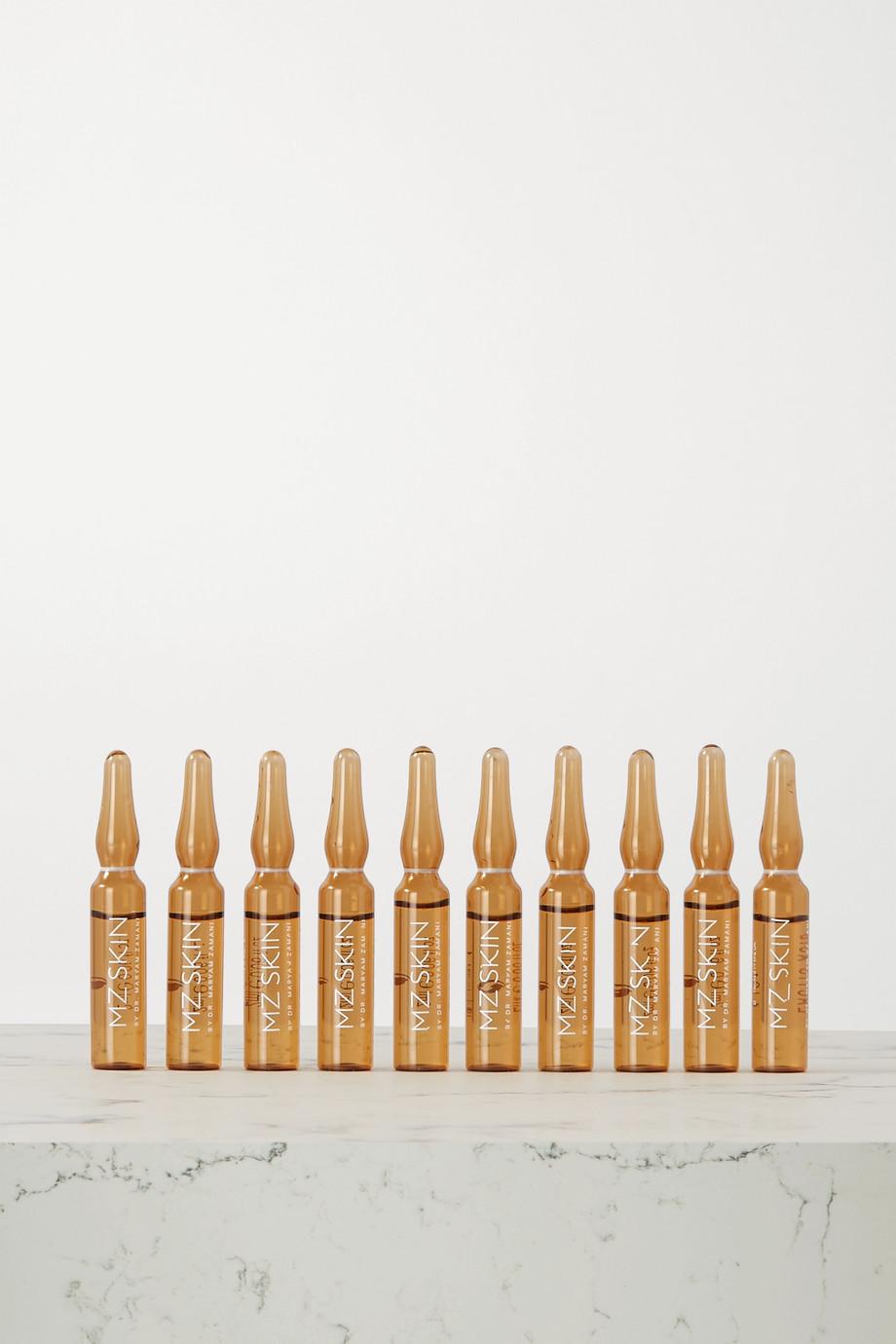 MZ Skin Glow Boost Ampoules, 10 x 2ml