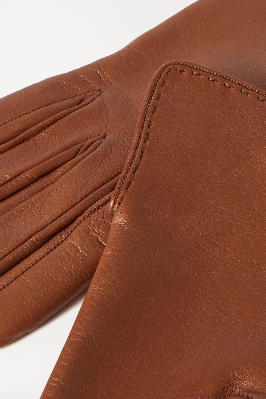 Loro Piana Leather gloves