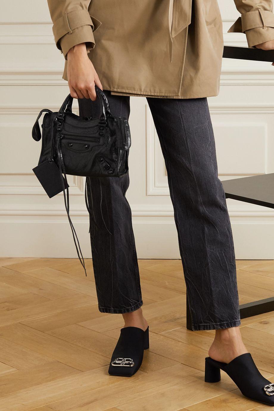 Balenciaga Classic City mini textured-leather tote