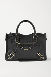 Balenciaga Classic City nano textured-leather tote