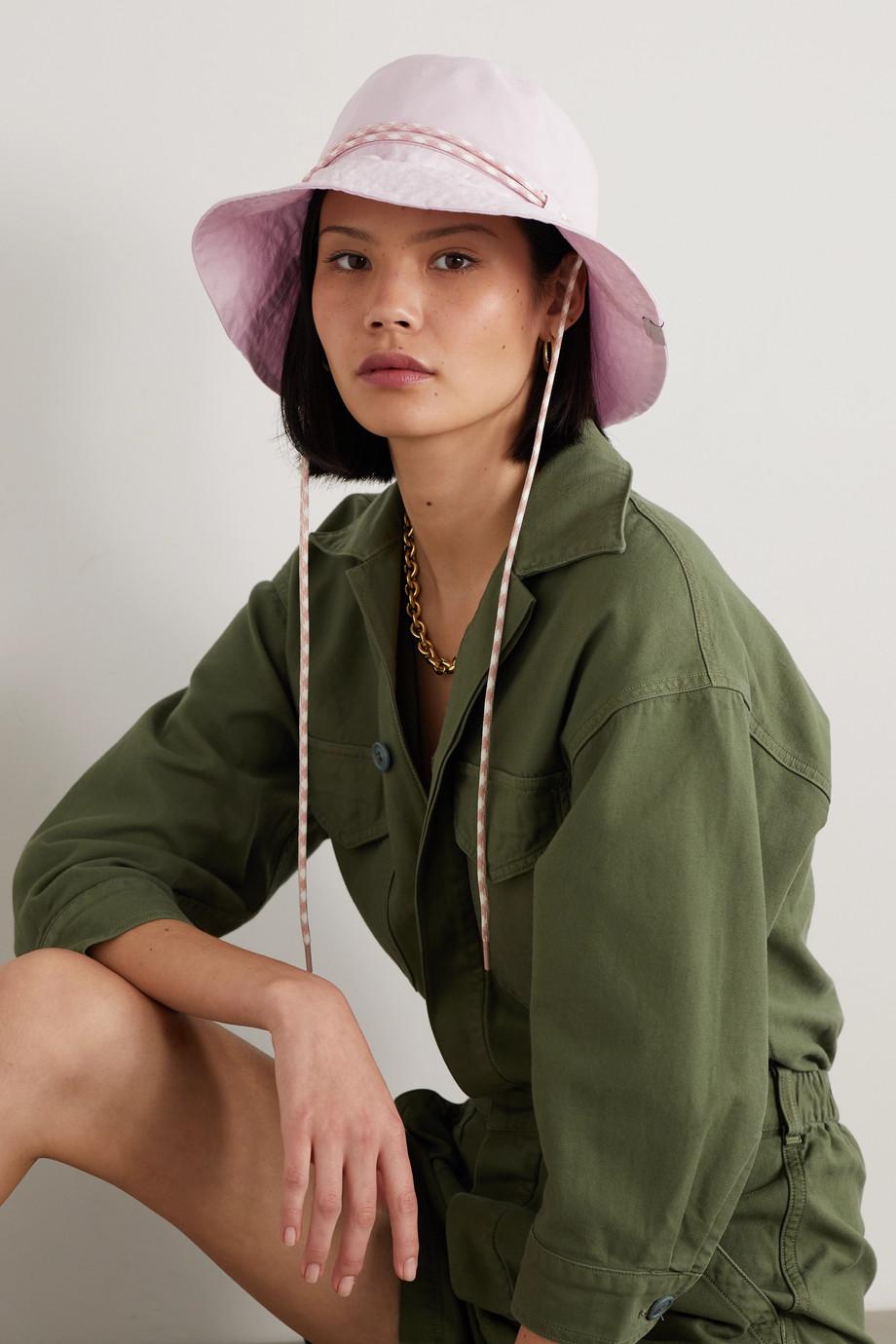 rag & bone Rope-trimmed cotton bucket hat