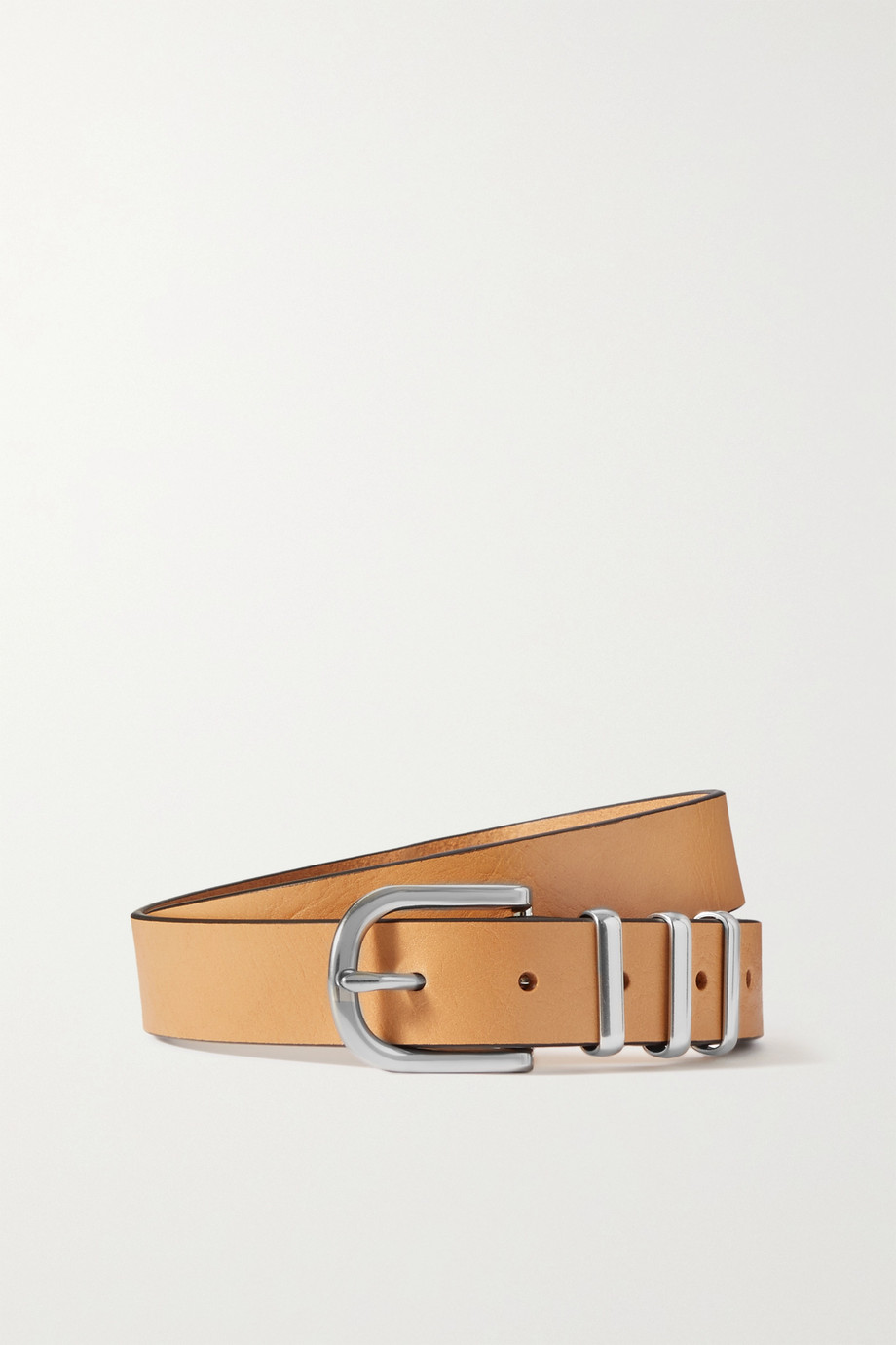 rag & bone Jumbo Jet leather belt