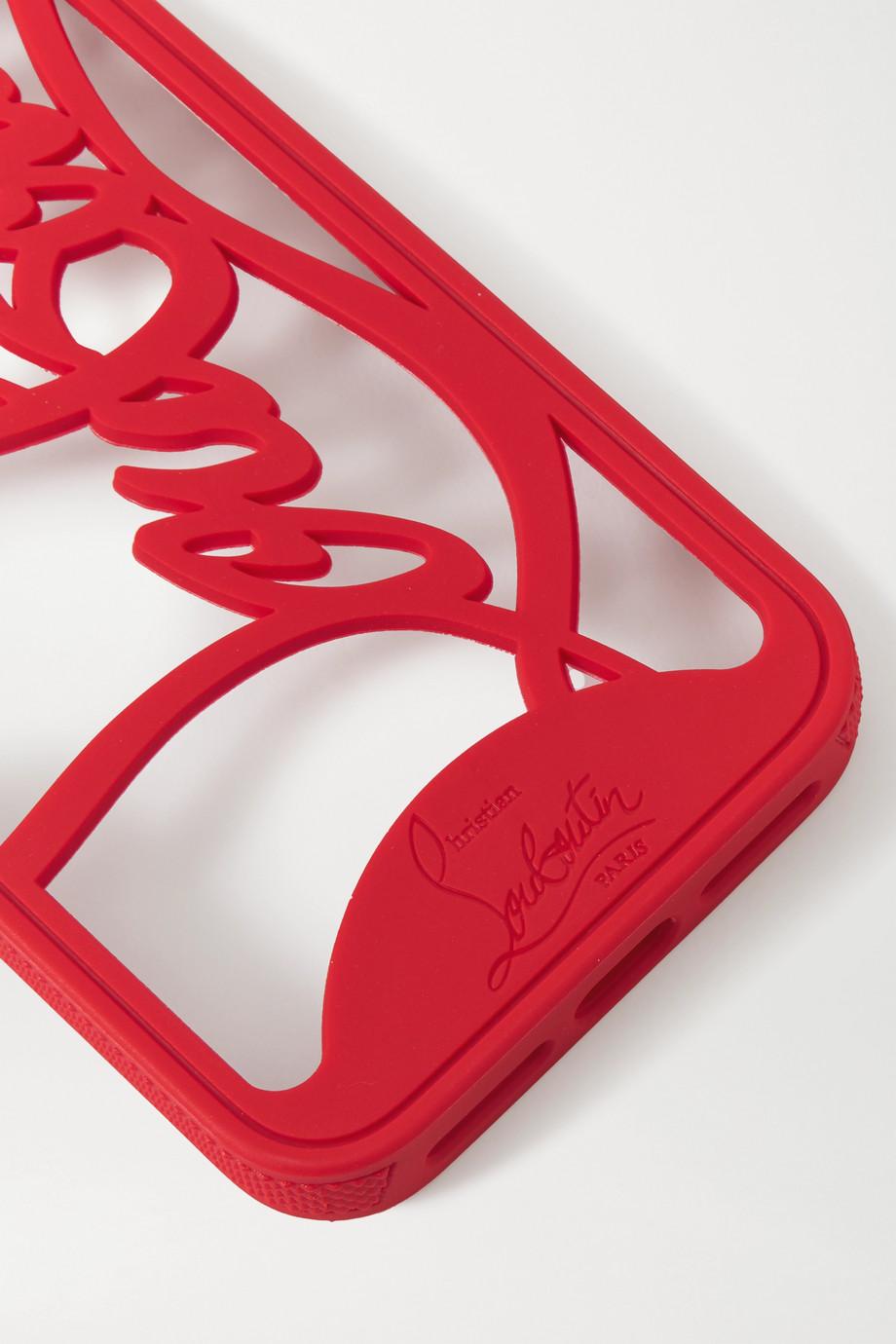 Christian Louboutin Louboutin Logo cutout PVC iPhone 11 Pro case